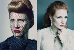 Jessica Chastain For W Magazine May 2012