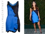 Jordana Brewster's Stella McCartney Two Tone Dress