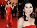 Julianna Margulies In Reed Krakoff - 'Cosmopolis' Cannes Film Festival Premiere