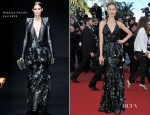 Karolina Kurkova In Roberto Cavalli - 'Killing Them Softly' Cannes Film Festival Premiere