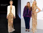 Karolina Kurkova In Roberto Cavalli - amfAR's Cinema Against AIDS Gala 2012