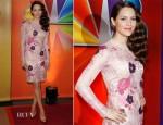 Katharine McPhee In Dolce & Gabbana – NBC Upfront Presentation