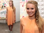 Kristen Bell In 3.1 Phillip Lim - 'City of Style' Book Launch