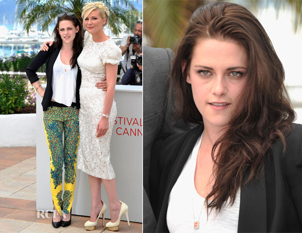 Kristen Stewart In Balenciga - 'On The Road' Cannes Film Festival Photocall