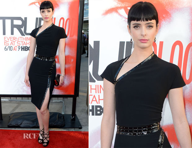 Krysten Ritter In Alexander McQueen - 'True Blood' Season 5 Premiere