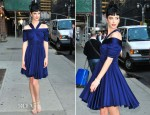 Krysten Ritter In Z Spoke by Zac Posen - Late Show with David Letterman