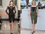 Kylie Minogue In Emilio Pucci - 'Holy Motors' Cannes Film Festival Photocall
