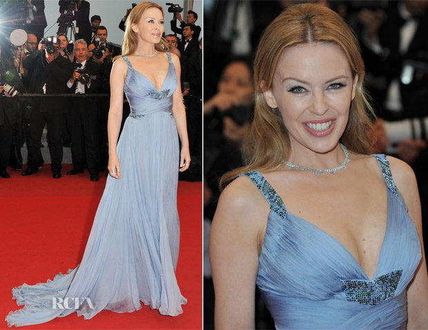 Kylie Minogue In Roberto Cavalli - 'Therese Desqueyroux' Cannes Film Festival Premiere & Closing Ceremony