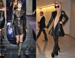 Lady Gaga In Versace - Narita International Airport
