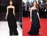 Lana Del Rey In Alberta Ferretti - 'Moonrise Kingdom' Cannes Film Festival Premiere & Opening Ceremony