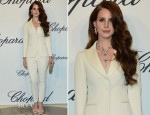 Lana Del Rey In Moschino - 2012 Trophée Chopard Party