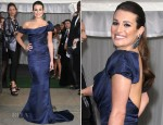 Lea Michele In Zac Posen - 2012 Glamour Women of the Year Awards