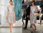 Linda Evangelista In Erdem - Manhattan Family Court