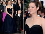 Marion Cotillard In Christian Dior Couture - 'De Rouille et D'Os' Cannes Film Festival Premiere