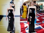 Melissa George In Armani Privé - BAFTA Television Awards 2012