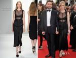 Melissa George In Calvin Klein - 'De Rouille et D'Os' Cannes Film Festival Premiere