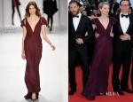 Mia Wasikowska In J. Mendel - 'Lawless' Cannes Film Festival Premiere