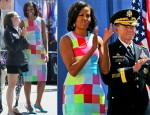 Michelle Obama In Preen - 2012 Warrior Games Opening Ceremony