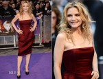 Michelle Pfeiffer In Lanvin - 'Dark Shadows' London Premiere
