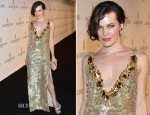Milla Jovovich In Prada – de Grisogono Party