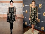 Minka Kelly In Temperley London - 'Got Your 6' Press Conference