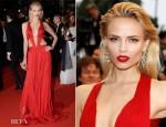 Natasha Poly In Roberto Cavalli - 'Cosmopolis' Cannes Film Festival Premiere