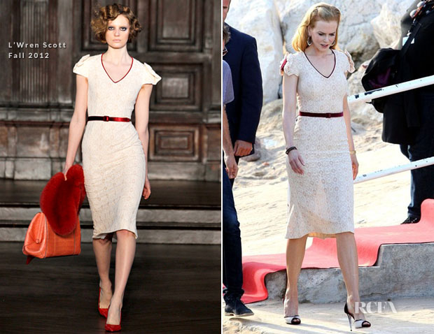 Nicole Kidman In L'Wren Scott - Le Grand Journal