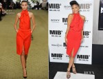 Nicole Scherzinger In Bill Blass – 'Men In Black 3' New York Premiere