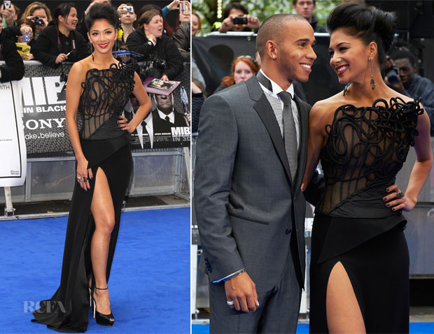Nicole Scherzinger In Cengiz Abazoglu - 'Men In Black 3' London Premiere