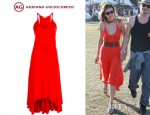 Nina Dobrev's Adriano GoldSchmied Maxi Dress