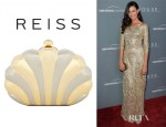 Odette Annable's Reiss Kaylin Shell Clutch
