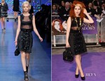 Paloma Faith In Dolce & Gabbana - 'Dark Shadows' London Premiere