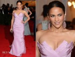Paula Patton In Vera Wang - 2012 Met Gala