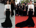 Paz Vega In Stéphane Rolland Couture - 'Madagascar 3′ Cannes Film Festival Premiere