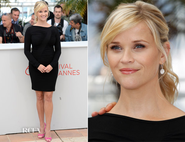 Reese Witherspoon In Versace - 'Mud' Cannes Film Festival Premiere