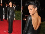 Rihanna In Tom Ford - 2012 Met Gala