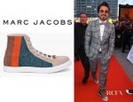 Robert Downey Jr's Marc Jacobs Beaded Sneakers