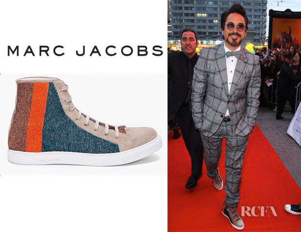 Robert Downey Jr Marc Jacobs