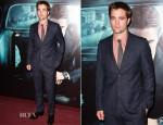 Robert Pattinson In Gucci - 'Cosmopolis' Paris Premiere