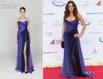 Rose McGowan In Monique Lhuillier - 'Night in Monaco' Gala Fundraiser