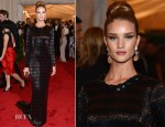 Rosie Huntington-Whiteley In Burberry - 2012 Met Gala