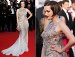 Roxane Mesquida In Roberto Cavalli - 'On The Road' Cannes Film Festival Premiere