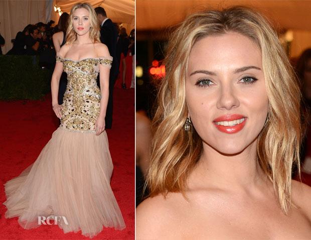 Scarlett Johansson In Dolce & Gabbana - 2012 Met Gala