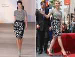 Scarlett Johansson In Preen - Hollywood Walk of Fame
