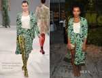 Solange Knowles In Flaminia Saccucci - 2012 MoMA Party In The Garden Benefit
