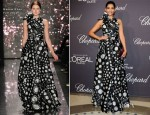 Sonam Kapoor In Naeem Khan - Chopard And L'Oreal Party