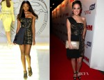 Tulisa Contostavlos In Versace - FHM's 100 Sexiest Women in the World Party
