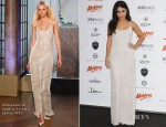 Vanessa Hudgens In Philosophy di Alberta Ferretti - Amber Fashion Show and Charity Auction