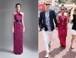 Vanessa Hudgens In Temperley London - Monte Carlo Grand Prix