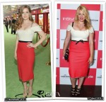 Who Wore Roland Mouret Better? Amy Adams or Amanda de Cadenet